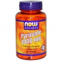 PYRUVATE 1000MG (90 TABLETS) - NOW SPORTS