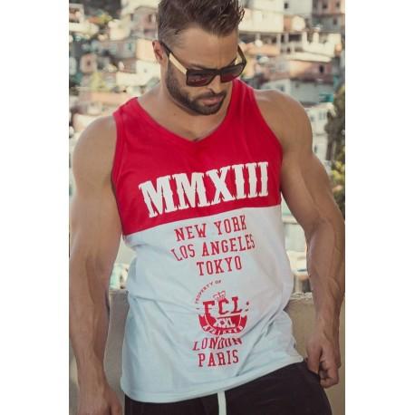 REGATA STREET VERMELHA E BRANCA MMXIII - FIT CLOTHING
