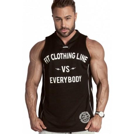 REGATA BASKET FITCLOTHINGLINE VS EVERYBODY PRETA - FIT CLOTHING