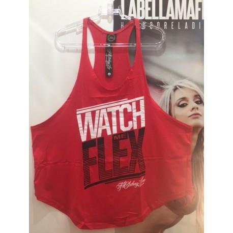 REGATA SLIM WATCH ME FLEX VERMELHA - FIT CLOTHING