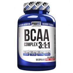 BCAA COMPLEX 3:1:1 (60 CAPS) - PROFIT LABS