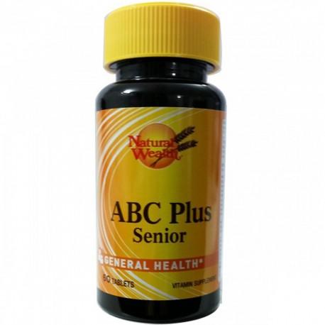 ABC PLUS SENIOR (60 TABS) - NATURAL WEALTH