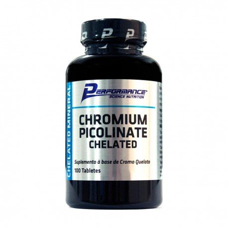 Chromium Picolinate Chelated (100 Tabletes) - Performance Nutrition