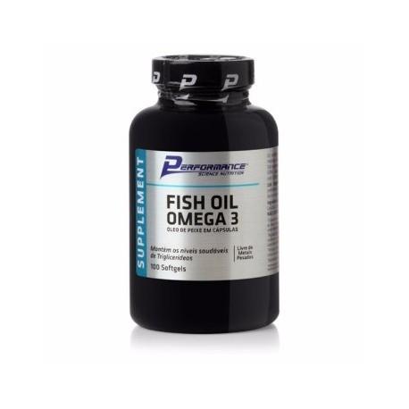 FISH OIL OMEGA 3 (100CAPS) - PERFORMANCE
