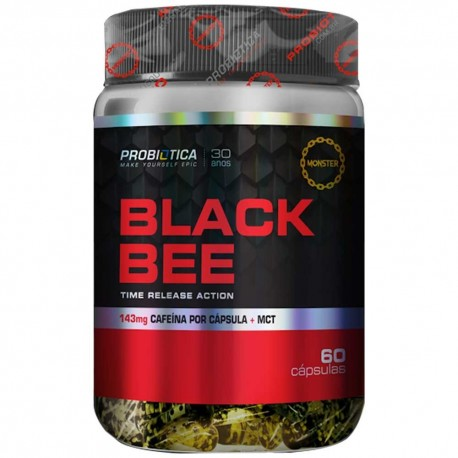 Black Bee (60caps) - Probiótica
