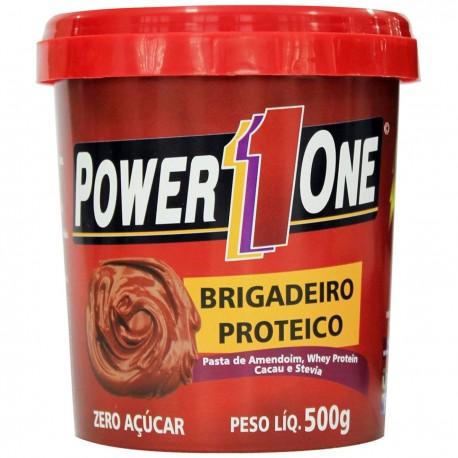 PASTA DE AMENDOIM BRIGADEIRO (500g) POWER 1 ONE