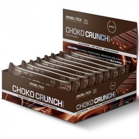 CHOKO CRUNCH PROTEIN (CAIXA 12 UNIDADES) - PROBIÓTICA
