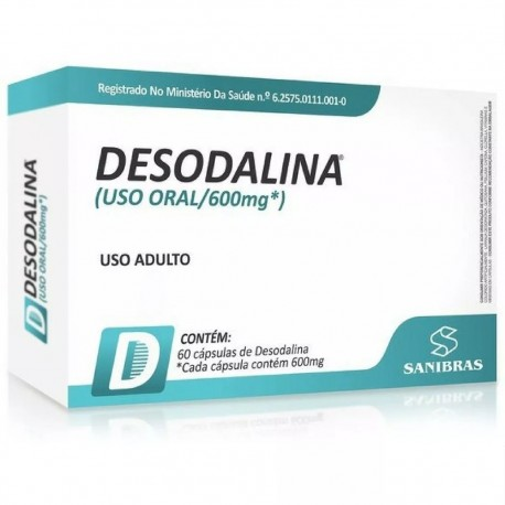 Desodalina (60 caps) - Sanibraz