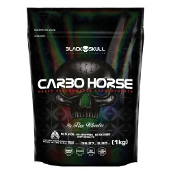 CARBO HORSE (1KG) - BLACK SKULL