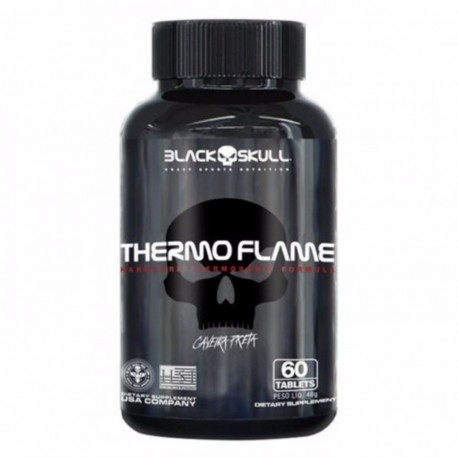 THERMO FLAME TABS (60 TABS) - BLACK SKULL