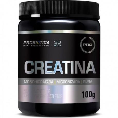 CREATINA PURA (100G) - PROBIÓTICA LINHA PRO