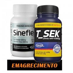 COMBO EMAGRECIMENTOS POWER SUPPLEMENTS (SINEFLEX + T_SEK)