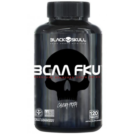 BCAA F.K.U. (120 TABS) - BLACK SKULL