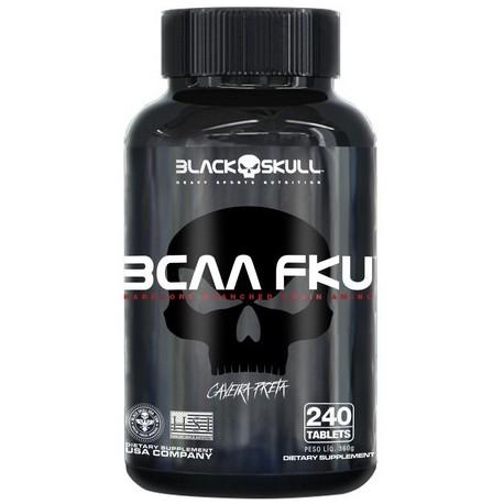 BCAA F.K.U. (240 TABS) - BLACK SKULL