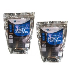 COMBO 2 UNIDADES WHEY PROTEIN 5W (900G) - HEALTH TIME