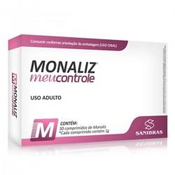 MONALIZ MEU CONTROLE (30 CAPS) - SANIBRAS