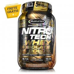 NITRO TECH WHEY ISOLATE GOLD (907G) - MUSCLETECH