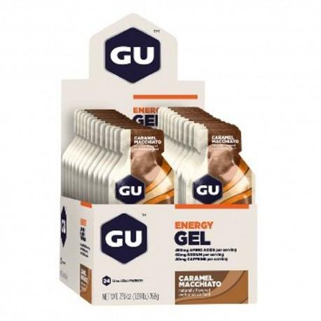 CAIXA GU ENERGY GEL (24 UNI) - GU