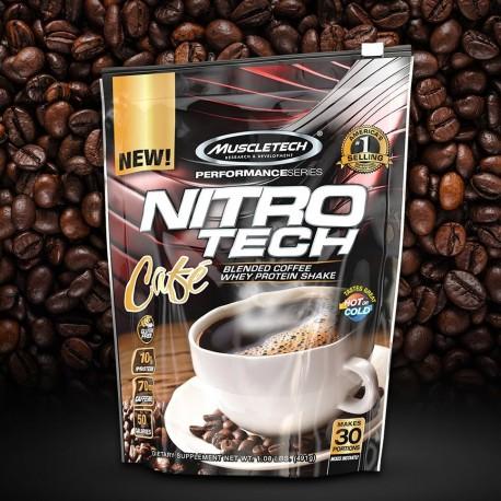 NITRO TECH CAFÉ (491G) - MUSCLETECH