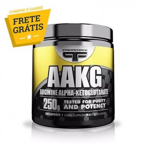 ARGININA AAKG ALPHA KETOGLUTARATO (250 Gr - 125 Doses) - PrimaForce