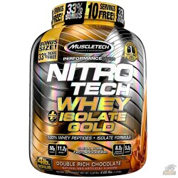 NITRO TECH WHEY ISOLATE GOLD (1.8KG) - MUSCLETECH