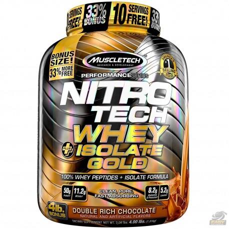NITRO TECH WHEY ISOLATE GOLD (1.8KG) - MUSCLETECH