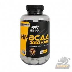 HI-BCAA 3000 + ARG (120 TABLETS) - LEADER NUTRITION