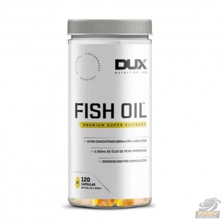 OMEGA 3 FISH OIL (120 CAPS) - DUX NUTRITION