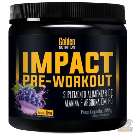 IMPACT PRE-WORKOUT (300G) - GOLDEN NUTRITION