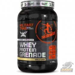 WHEY PROTEIN GRENADE (900G) - MILITARY TRAIL - MIDWAY