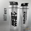 BLENDER INOX BEST WHEY (739ML) - ATLHETICA NUTRITION