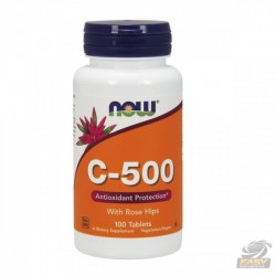 C-500 (100 TAB) - NOW NUTRITION