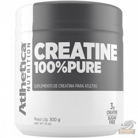 CREATINA 100% PURE (300G) - ATLHETICA NUTRITION