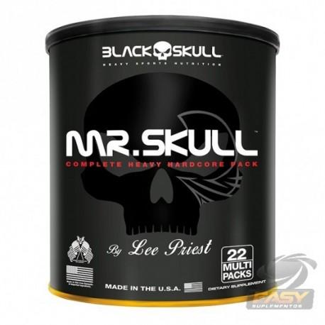 MRS SKULL (22 PACKS) - BLACK SKULL