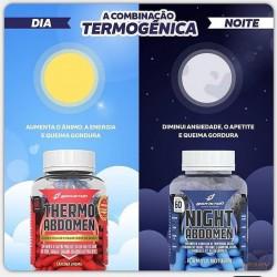 COMBO TERMOGÊNICO (THERMO ABDOMEN (60 CAPS) + NIHGT ABDOMEN (60CAPS) ) - BODY ACTION