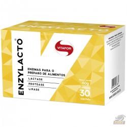 ENZYLACTO (MIX DE ENZIMAS DIGESTIVAS) - 2g (30 SACHÊS) - VITAFOR