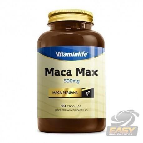 MACA MAX MACA PERUANA (90CAPS) - VITAMINLIFE