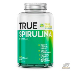 SPIRULINA 450MG (120 CAPS) - TRUE SOURCE