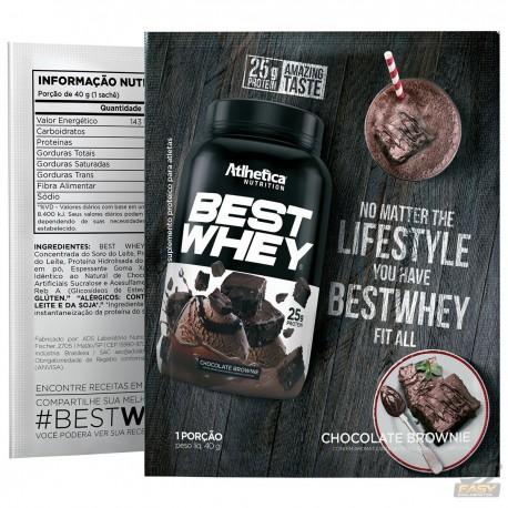 BEST WHEY (15 SACHÊS DE 35G) - ATLHETICA NUTRITION