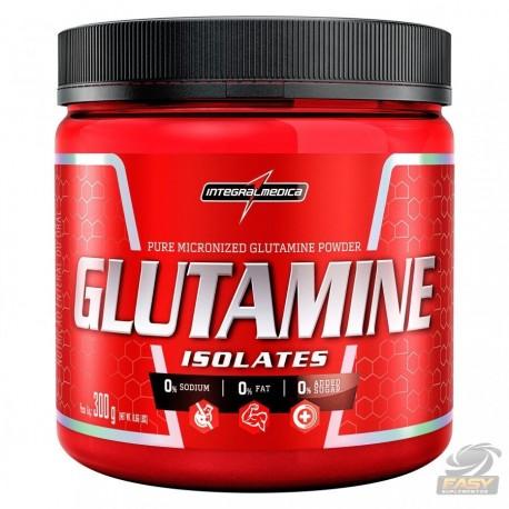 GLUTAMINE ISOLATES (300G) - INTEGRALMÉDICA