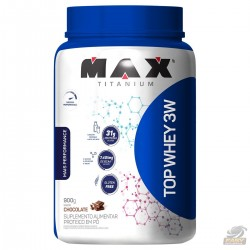 TOP WHEY 3W +PERFORMANCE (900G) - MAX TITANIUM