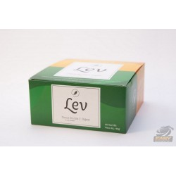 CHÁS LEV DETOX COM CAFEÍNA + DIGEST (60 UNID) - LEV