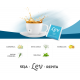 CHÁS LEV DETOX COM CAFEÍNA + K'ALMA (60 UNID) - LEV