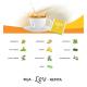 CHÁ LEV DETOX - COM CAFEINA (60 UNID) - LEV