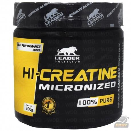 HI CREA MICRONIZADA (300G) - LEADER NUTRITION