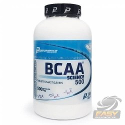 BCAA SCIENCE 500 (200 TABLETES) - PERFORMANCE NUTRITION