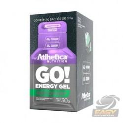 GO! ENERGY GEL (CAIXA C/ 10 SACHES) - ATLHETICA