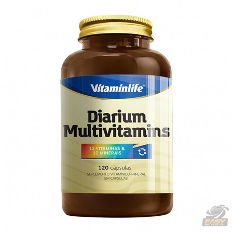 DIARIUM MULTIVITAMINS (120CAPS) - VITAMINLIFE