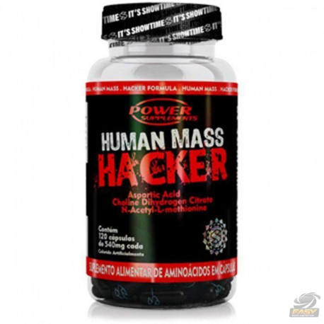 HUMAN MASS HACKER (120 CAPS) - POWER SUPPLEMENTS