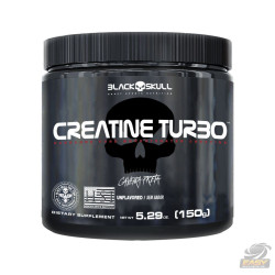 CREATINE TURBO (150G) - BLACK SKULL